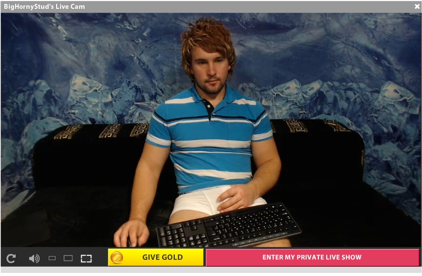 BigHornyStud is one of the many gay live webcam models at Gay Live Webcams TV!